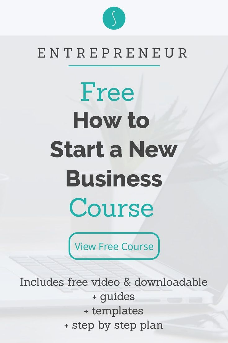Free Getting Started Course To Help You Start Your Business Small Business Tools Entrepreneur Startups Business Mentor