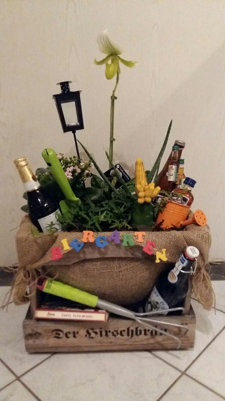 Biergarten für Männer zum Geburtstag