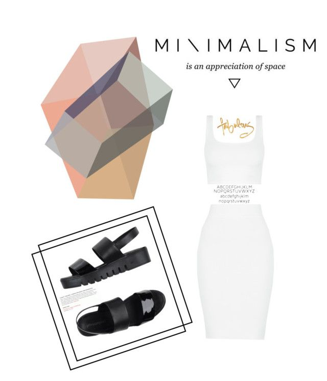 #Minimalism by nka12 on Polyvore featuring polyvore, fashion, style, Jeffrey Campbell, ADZif and clothing