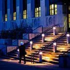 Friday night on campus