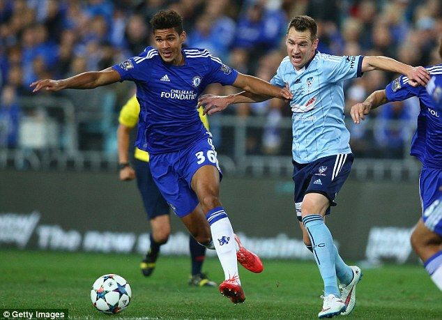 Chelsea youngster Ruben Loftus-Cheek (left) failed to impress when given playing time against Sydney