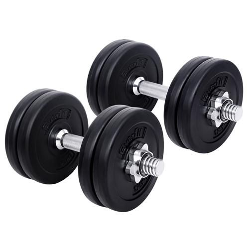 15kg Fitness Gym Exercise Dumbbell Set – Click Online Sales