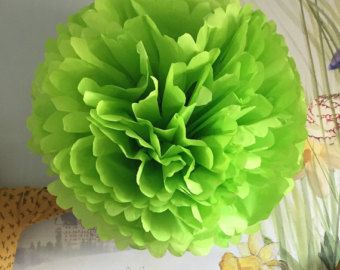 """Items similar to Large 12"""" and 8"""" Tissue Paper Sunflowers -  Perfect Decorations for Summer Wedding, July 4th, Birthday Party&Baby Shower on Etsy"""