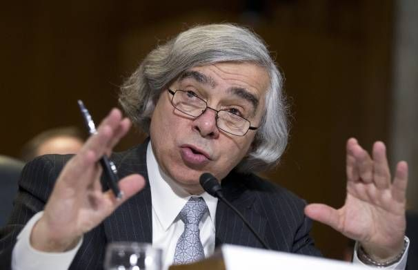 The 'wacky scientist' Ernest Moniz brings his unusual style to Energy Department | Read this fun story from our magazine's March 31 issue here: http://washingtonexaminer.com/the-wacky-scientist-ernest-moniz-brings-his-unusual-style-to-energy-department/article/2546385