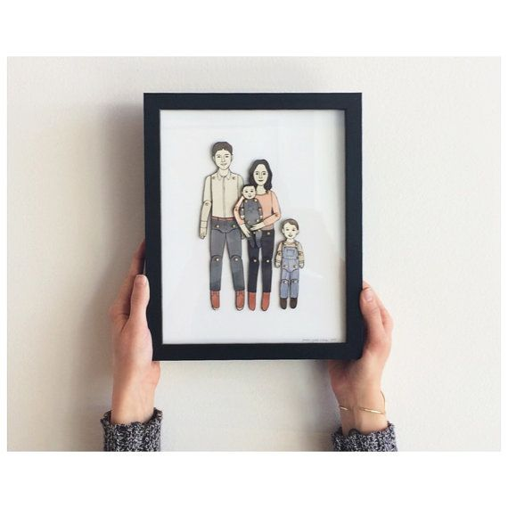 Hey, I found this really awesome Etsy listing at https://www.etsy.com/listing/216800279/paper-doll-portrait-custom-order-please