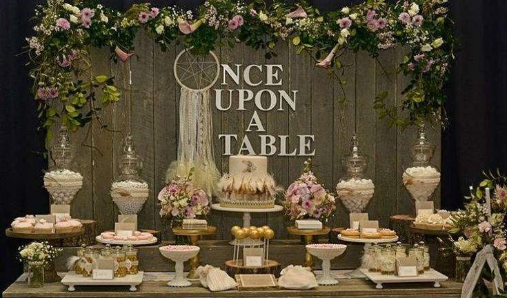 Düğünlerde Şeker Barları