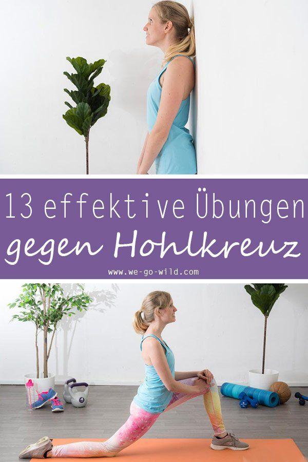 Hohlkreuz wegtrainieren: Die 11 besten Übungen gegen Hohlrücken – Rebecca Naumann-Gensch