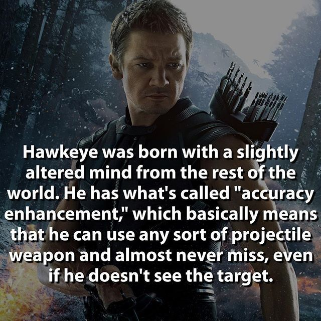 That's just awesome @marvelousfacts #love this page... He's been an archer since he was 10. Talk about experience. He's underrated.