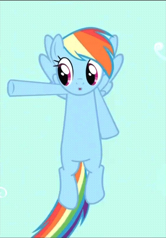 Which My Little Pony Are You im rainbowdash