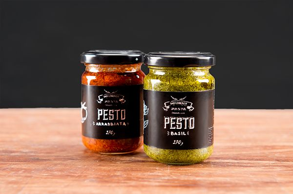pesto packaging