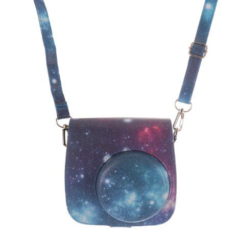 [Fujifilm Instax Mini 8 Classic Camera Case Series]-WOODMIN Exclusive Starry Sky PU Leather Protective Case with Shoulder Strap for Instax Mini 8 Camera (Blue), 2016 Amazon Hot New Releases Bags & Cases  #Electronics