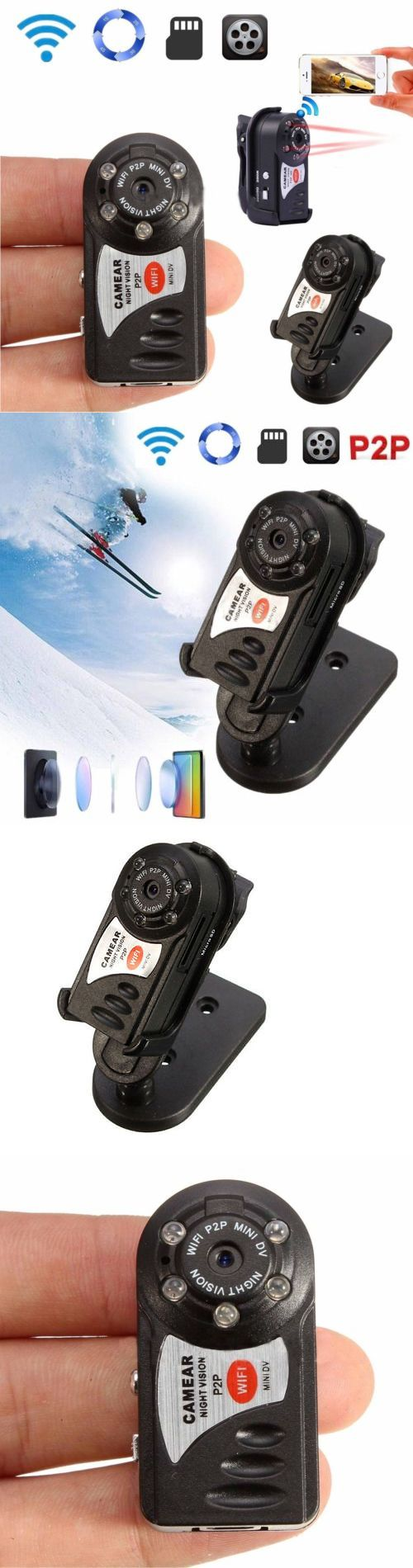 Security Cameras: Wireless Wifi Web Ip P2p Spy Hidden Security Camera Mini Night Vision Camcorder -> BUY IT NOW ONLY: $118.58 on eBay!