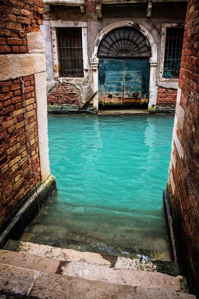 Canal Turquoise, Veneza, Itália