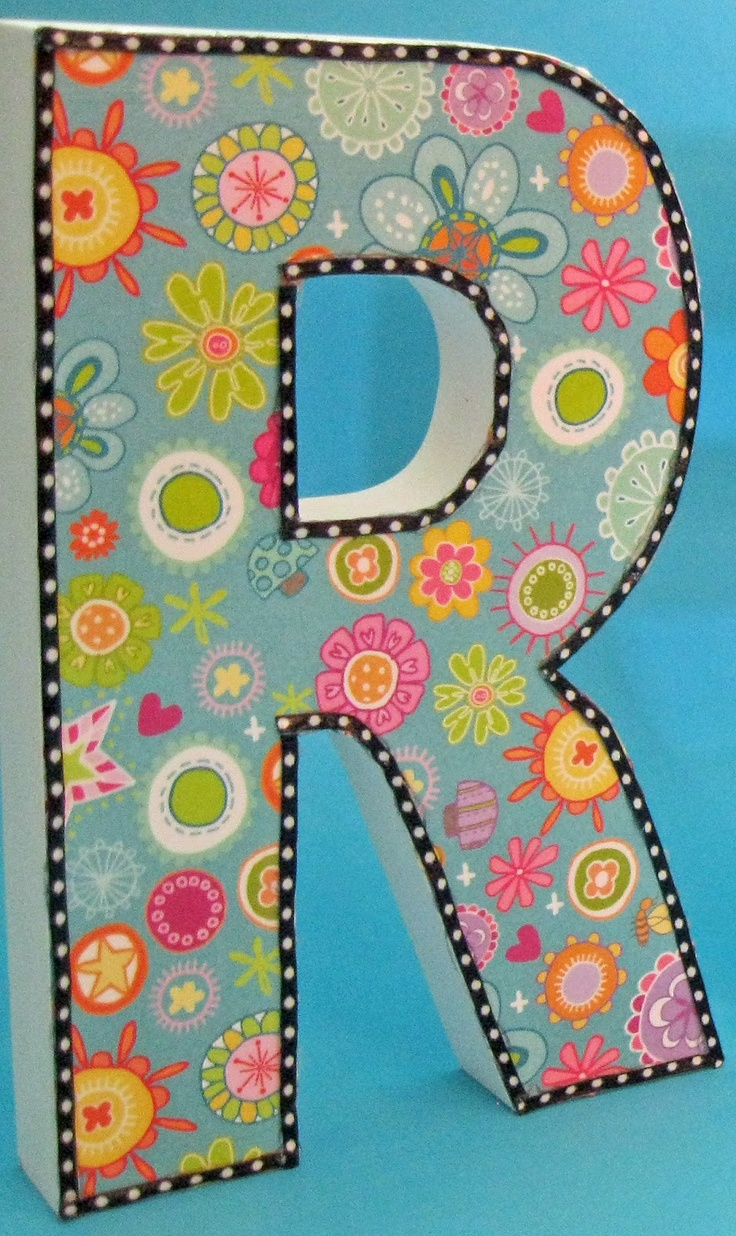 Wooden letters for crafts - Classroom Diy Diy Decorative Letters By Jennifer Of Runde S