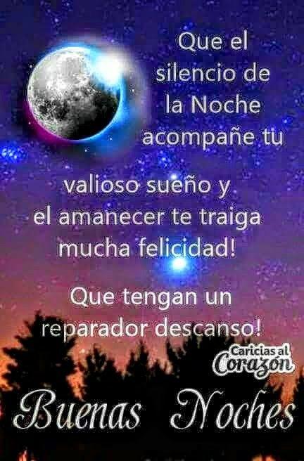 Mensagem De Boa Noite Em Espanhol Reflexão Da Mensagem E