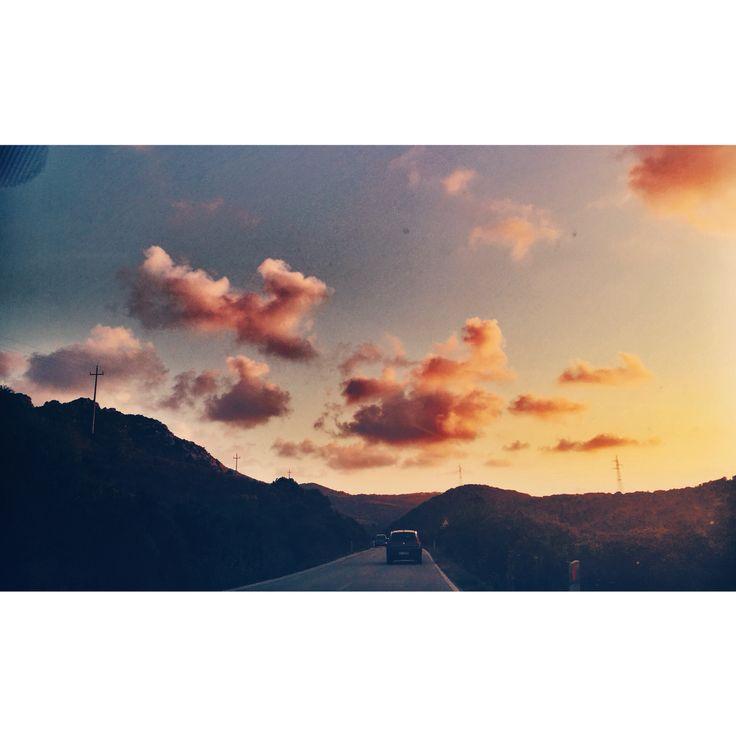 #sunset #sardegna #italy