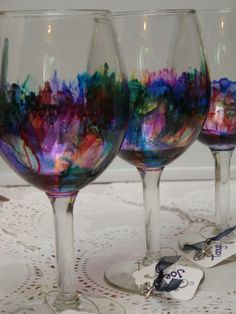 Make a dozen custom wine glasses in 4 hours do it for Do it yourself wine glasses