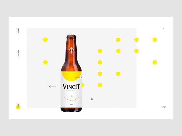Motion design mettant en scène la noble bière Vincit. L'univers du produit est représenté dans ses plus pures formes : la couleur et la rondeur des bulles. L'animation arrive à nous le traduire. C'est plaisant.