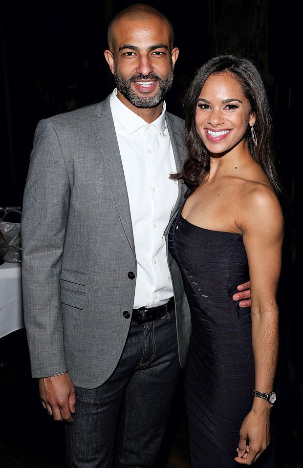 Misty Copeland: meet the ballerina who rewrote the rules of colour, class and curves - Telegraph  Copeland with her boyfriend Olu Evans (GETTY)