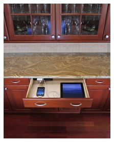 Kitchen Tune-Up - Drawer Charging Station