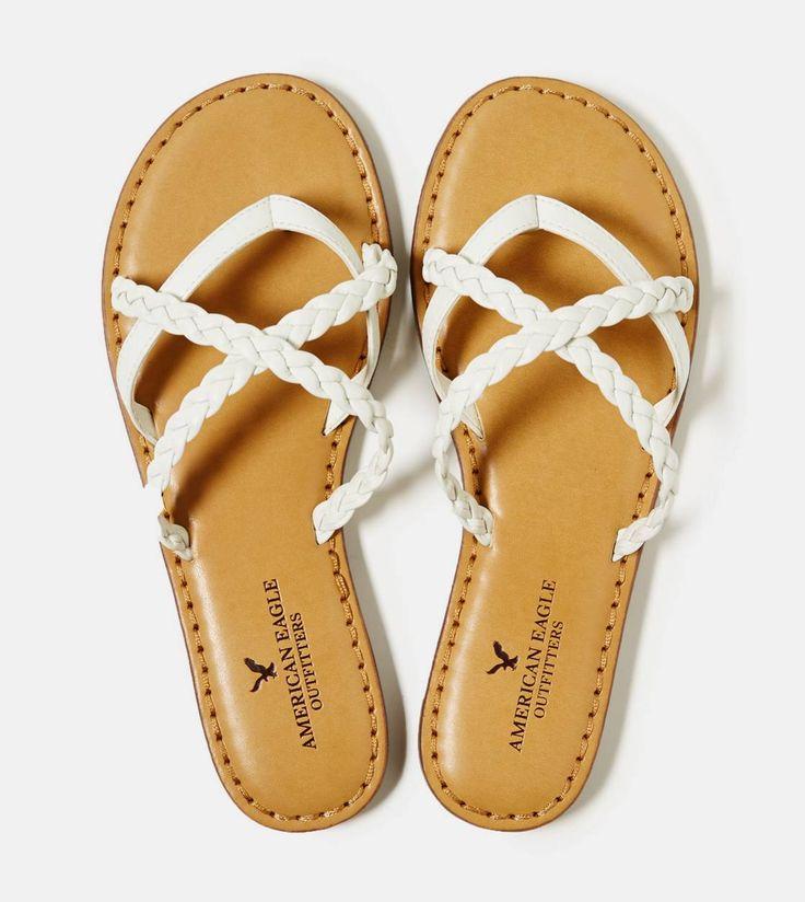 Aeo Woven Toe Ring Sandal