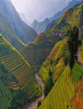 Mu Cang Chai - VietnamLongtemps méconnu en raison de son accès difficile, le district de Mu Cang Cha... - Pinterest
