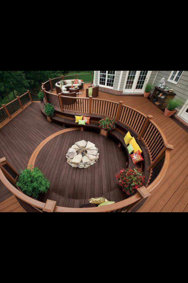 16 Best Images About Back Deck Designs On Pinterest