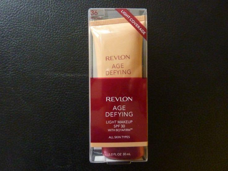 Revlon Age Defying Light Makeup / Foundation SPF 30  MEDIUM  #36   New / Boxed