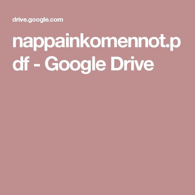 nappainkomennot.pdf - Google Drive