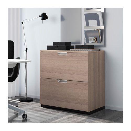 Super Bureau Avec Caisson Dossier Suspendu. Free Meuble Ikea Bureau  LK83