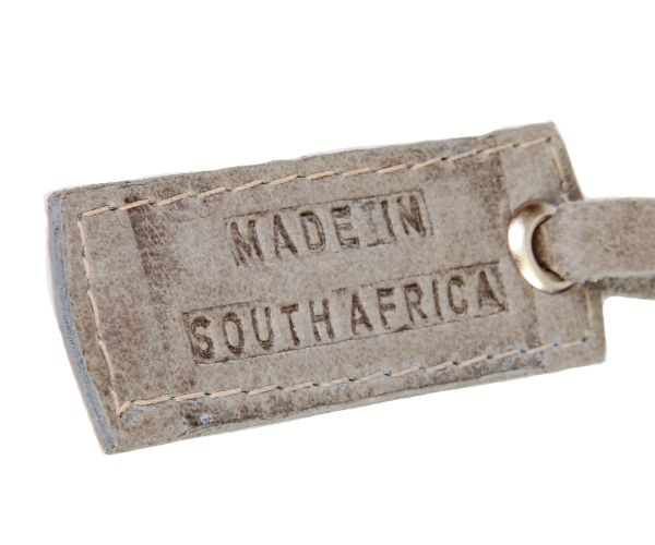 All our luggage is made in South Africa! #southafricandesign #leather #luggage