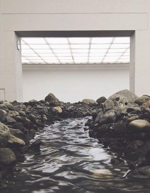 Olafur Eliasson / riverbed