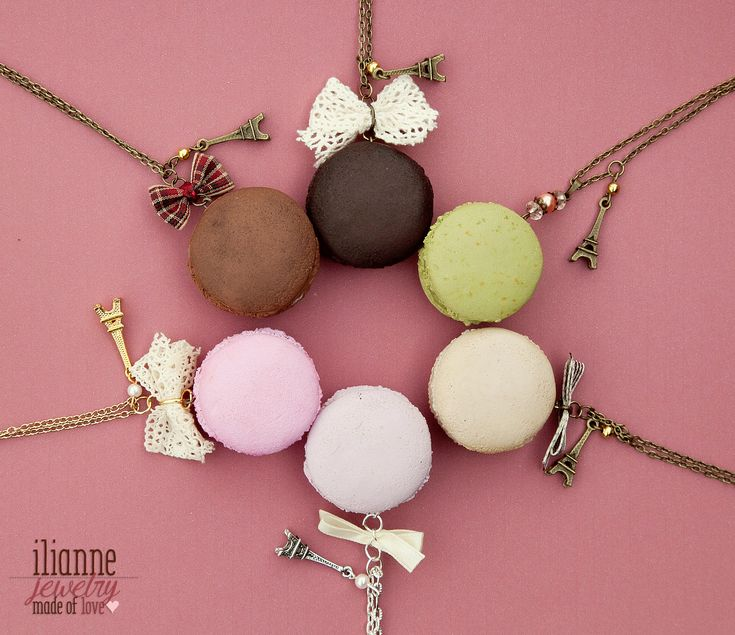 Ilianne | Jewelry Made of Love - Realistic Macaron