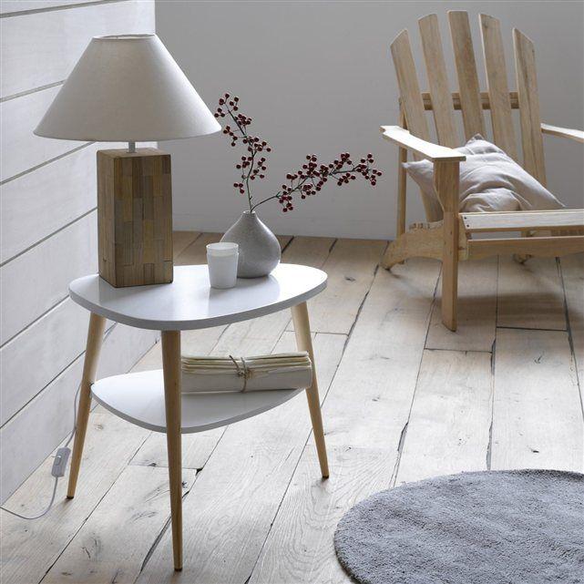 Tendance nature et option vintage, le chevet ou table basse Jimi ravira tous les amateurs de design sobre et épuré et de scandinave.