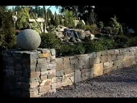 VIDEO: Part 1 of 3 from our How-To series for the DIY'ers out there. This video walks through building your own retaining or garden wall using natural stone.Website - http://www.stonenw.com . . . Video - http://www.youtube.com/watch?v=JUNOzoy67ig