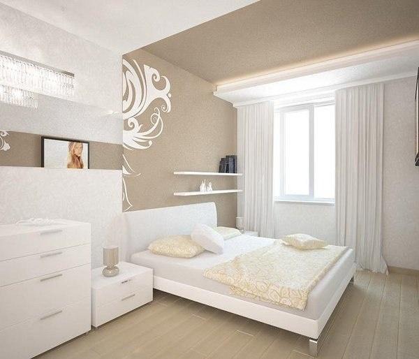 gorg white beige bedroom