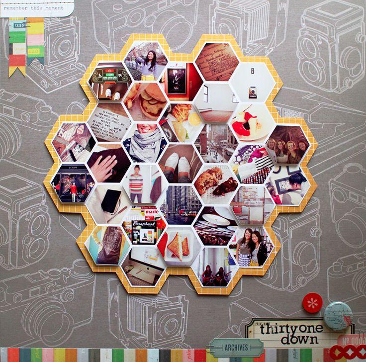31 how to make hexagon photos