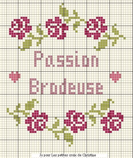 Passion brodeuse
