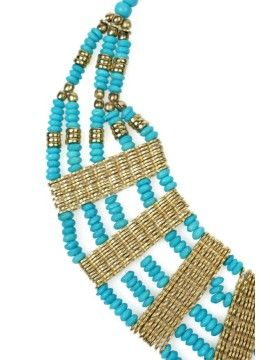 BORRO Greek Turquoise Necklace