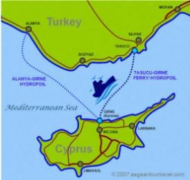 Cyprus to Turkey Ferry