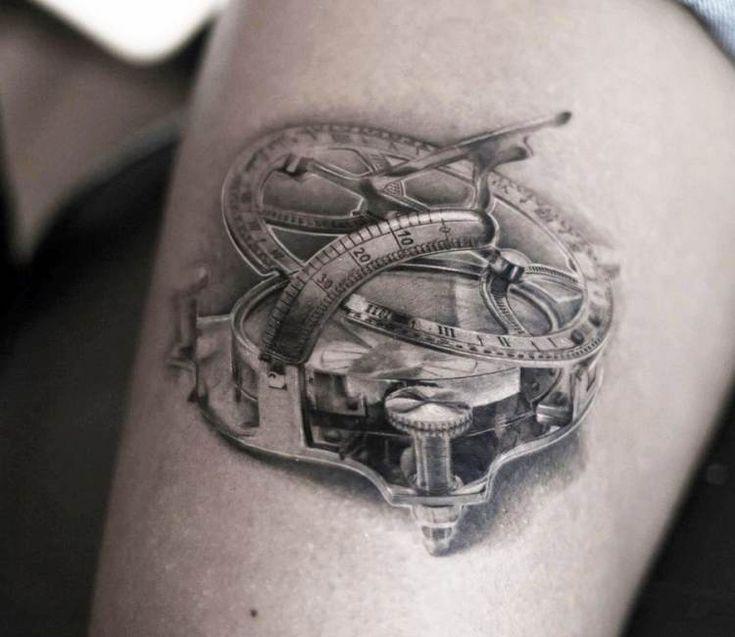 the 25 best sundial tattoo ideas on pinterest clockwork tattoo dan tat image and lions 247. Black Bedroom Furniture Sets. Home Design Ideas