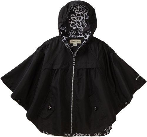 London Fog Girls 7-16 Poncho Jacket $29.99 - $32.40