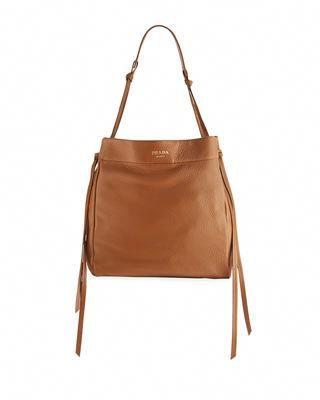 d4a86ba775f6 Prada Metallic Cervo Large Tote Bag  Pradahandbags