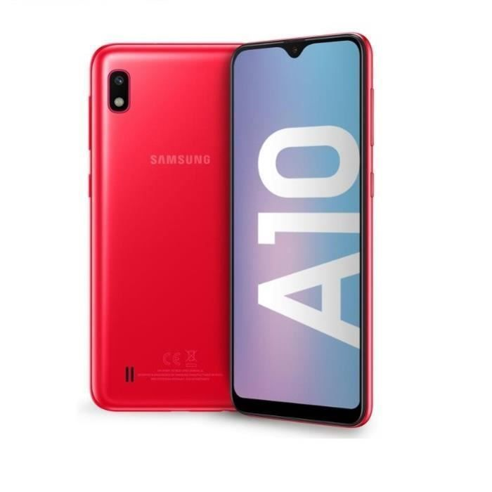 Samsung Galaxy A10 32 Go Red Dual Sim Refurbished Like New In 2020 Samsung Galaxy Samsung Galaxy