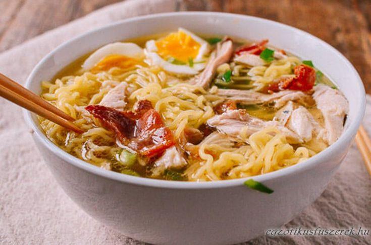 Ramen leves - Maradékokból Újratöltve - Japán és Koreai konyha - Receptek Messzeföldről - Egzotikus fűszerek
