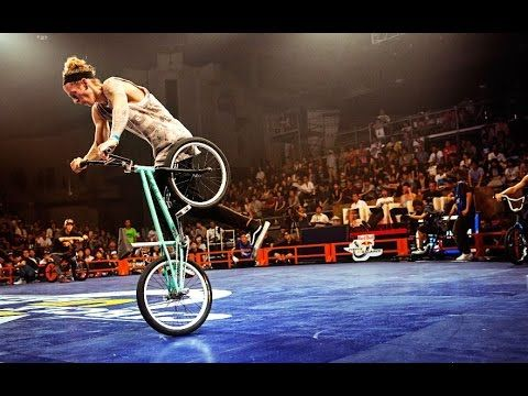 Jean William Prevost at Flatland Bmx Pro World Circuit 2015 round 1 FINAL