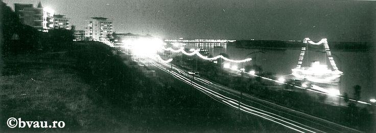 """Galați : Sărbătoare pe Faleză : (Noapte de august pe Faleză) / Năstase Marin .- Galaţi, 1972. Imagine din colecțiile Bibliotecii """"V.A. Urechia"""" Galați."""