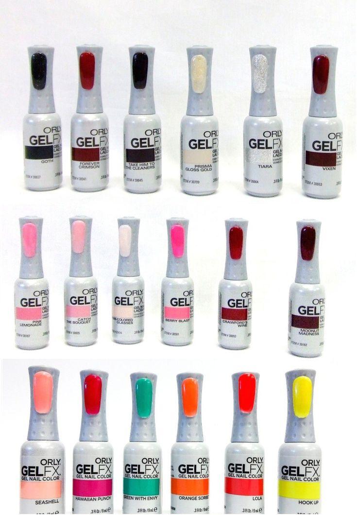 Gel FX Gel Polish PINK LEMONADE   Orly gel fx, Gel, Gel polish