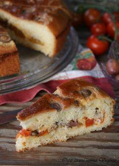 torta rustica con impasto molle,Oggi cucina nonna Virginia