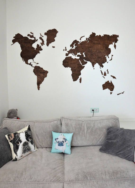 Amazing ON SALE Wall World Map Wooden Large Travel Map of the World